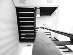 straight  handrail (rainerralph) Tags: deutschland stairway objektiv1240pro germany architecture omdem5markii stair handlauf handrail