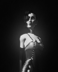 Dawn (Stachmoon) Tags: dawn contrast video game gaming screenshot reshade monochrome portrait character virtual art digital unique creations