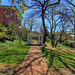 Woodrow Wilson Musuem garden
