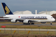 Singapore Airlines Airbus A380-841 cn 243 9V-SKU (Clément Alloing - CAphotography) Tags: singapore airlines airbus a380841 cn 243 toulouse airport aeroport airplane aircraft flight test canon 100400 spotting tls lfbo aeropuerto blagnac airways aeroplane engine sky ground take off landing 1d mark iv 9vsku