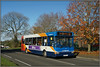 35175 with a D1 (Jason 87030) Tags: londonroad trees autumnal color colour dart slf pointer plaxton dennis kx56kha d1 daventry northampton rugby northants sony alpha a6000 ilce nex northamptonshire bus route service 2017 november timetable change