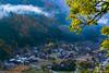 Autumn in Shirakawa-go (leoshop) Tags: 白川鄉 nagoya japan sony fe70200gm fall autumn redleave fog landscape orange trees a7r2 shirakawago village gifu gitzo