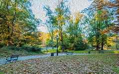 1338__0455FLOP (davidben33) Tags: brooklyn 718 ny quotnew yorkquot quotprospect parkquot autumn 2017 fall trees bushes leaves lake pets gooses ducks water sky clouds colors yellow green blue people quotstreet photosquot