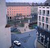 Munich 8 (practech1) Tags: street triangle traffic bus kiosk antennas apartments stairway