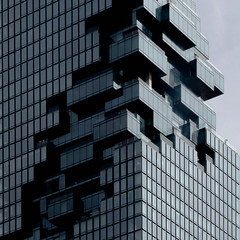 pixelated (morbs06) Tags: bangkok mahanakhon olescheeren thailand abstract architecture building cities city cladding colour facade highrise lines pattern repetition square stripes urban windows