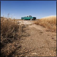 dirt road (e l e c t r o l i t e) Tags: hasselblad 60mm portra160 57chevy electrolite shannonrichardson