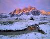 Rampart Range Sunrise (AlexBurke) Tags: canada landscape film 4x5 large format mountains sunrise fuji velvia backpacking outdoors