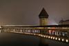 Luzern (markus_kaeppeli) Tags: lucerne bridge kapellbrücke reuss river night nacht lights