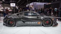 Acura NSX GT3 (ccmonty) Tags: 2017laautoshow acura acuransxgt3 conventioncenter dtla laautoshow laas losangeles losangelesconventioncenter autoshow automobile car cars downtownlosangeles vehicle california unitedstates