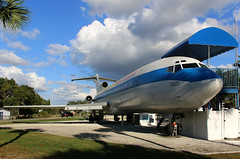 At the heart of the matter (crusader752) Tags: tampabaypacemaker fedex boeing b727233f n265fe b727 floridaairmuseum lakecity florida airliner jetairliner jet trijet classroom sunnfun