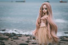 Dakota and the sea (Ilweranta) Tags: doll dim larina dollzone bjd msd