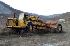 Caterpillar 631 B (Falippo) Tags: caterpillar631 caterpillar motorscraper scraper earthmoving earthmovingmachine ruspa movimentoterra argilla clay pit cava quarry
