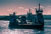 The Sandbanks Ferry - Split Tone (Julian Chilvers) Tags: uk dorset sandbanks boat splittone ferry