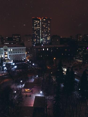 Москва из окна
