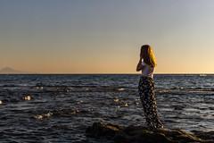 Je te vulesse dà tutt'e penziere e chi 'a matina va a faticà, pe' te fa capì pecché se dice si (LuxTDG) Tags: rosso ritratto outside portrait modella model giovane ragazza young lady girl bambola doll bellezza charm stile style capelli rossi red hair raggi di sole sunbeams sun vento wind ora dorata golden hour tramonto sunset colorful luce light mare sea panorama landscape scoglio rock reef piedi feet golfo napoli bay gulf naples capri sirena mermaid campania south italy italia