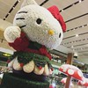 Saying 'Merry Xmas' from Hello Kitty! (chaoticbusher) Tags: instagramic filter snapshot holiday vacation festival season changirecommends exploresingapore photography phonography iphone6splus blacks whites shadow highlight contrast perspective conceptual abstract giant huge bokeh blur softfocus tiltshift waving 2017 december jeremyhuiphotography chaoticbusher gettyimage flickr yahoo festiveseason merrychristmas hellokitty departurehall terminal2 changiairport singapore