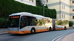 AMT 9344 (Lu_Pi) Tags: amt genova vanhool ag300 autobus bus autosnodato busarticolato genovanervi amtgenovalinea17
