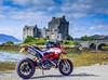 Ducati at the  Castle (rick.midgley123) Tags: ducati hypermotard 939sp eilean donan castle scotland fuji xt1 motorbike bike tour motorcycle hooligan 939 sp