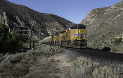 UP Military Train, Etna Nevada (LSallee) Tags: up unionpacific etna nevada