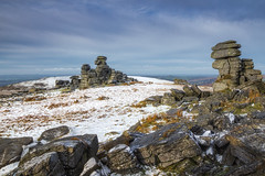 Great Staple Tor (Rich Walker75) Tags: dartmoor devon landscapes landscapephotography landmark landmarks rock rocks tor greatbritain england eos100d efs1585mmisusm eos canon snow winter