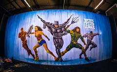 Justice League Ben Heine Live Art Performance for Movie Official Release (Warner Bros) - Made at Facts Comic Con (Flanders Expo) and Exhibited at Kinepolis Belgium (Antwerpen and Brussels) (Ben Heine) Tags: benheineart justiceleague painting peinture film movie art warnerbros project actor character superhero liveperformance cyborg aquaman superman flash wonderwoman batman music drawing dessin cinema ugc kinepolis benheine schilderij schilder liveart factsconvention flandersexpo kinepolisbrussels kinepolisantwerpen barnyard comiccon contemporaryart facts bocaro cyriel vs fox dccomics comics bd sketch colorful artist making exposition exhibition belgium heroes team collaboration artwork artsy color arte traditionalart speedpainting actionpainting arts graffiti grafiti brushes