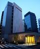 Blue tinted Tokyo (DameBoudicca) Tags: tokyo tokio 東京 japan nippon nihon 日本 japón japon giappone shiba 芝 minato 港区 shibaparkhotel hotel hotell hôtel albergo ホテル shibapark shibakoen 芝公園
