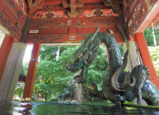 Temple Unesco ..Kitaguchi Hongu Fuji Sengen Jinja Shrine ..Japon