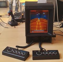Vectrex mit Farbfolie (1982) (stiefkind) Tags: vcfb vcfb2017 vcfb17 vintagecomputing vectrex