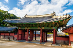 Changdeokgung  Palace 2 (21mapple) Tags: changdeokgung palace changdeokgungpalace royal seoul unesco world worldheritagesite heritage site asia korea republic outdoors outdoor outside out history historic building sun sunny clouds cloudy cloud