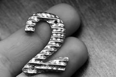 Two (Hylas) Tags: blackandwhite two macro macromondays canon7dmarkii fingertips