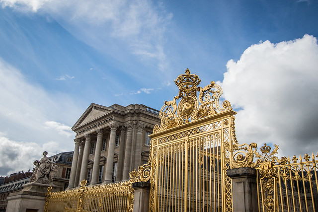 The Entrance Gate of Versailles