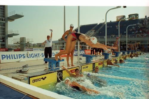 543 Swimming EM 1991 Athens