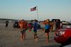 An American beach (radargeek) Tags: corpuschristi tx texas 2013 beach american flag padreisland dog tattoo tan