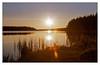 Éblouissements (Jean-Marie Lison) Tags: v700 scandia randonnée auvergne lac leverdesoleil