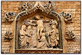 El Calvari, Iglesia de Santa María la Real, Aranda de Duero (Burgos, España)
