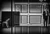 Estrangement (The Glass Eye) Tags: olympus epl3 evening man chairs office empty estateagents nottingham february 2015 street panasonic25mmf14