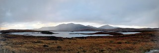 Hills of South Uist from Loch Skipport