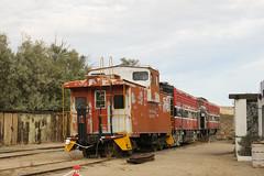 Jacumba Yard (Arrowhead Fan) Tags: imperial pacific railroad baja california gorge jacumba ca caboose f7a sdae san diego arizona eastern impossible bjrr carrizo