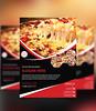 red color (Designer Nazim) Tags: restaurant design caffe pizza creative editable professional flyer corporate fast food unique