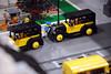 Harlem the 30's (The Brickstons Group) Tags: lego moc harlem new york yellow cab