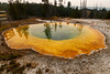 morning glory pool (Johanna & Alexander Fellinger) Tags: usa yellowstonenp morningglorypool nationalpark uppergeyserbasin heisequelle alexanderfellinger gewässer usa2017 amerika natur wyoming