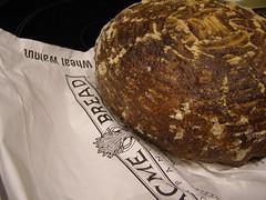 Acme Bread (Melinda Stuart) Tags: bread loaf dark walnut acme store bakery boule wholewheat