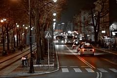Słupsk (januwas) Tags: slupsk słupsk stolp poland pommern polen street night samyang85mm machinery hdr effects 2