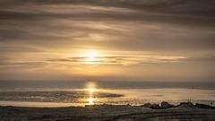 Serenity (m@t.) Tags: winter sunrise sun sea beach littoral