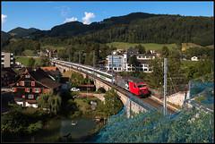 Lichtensteig (FNIS) Tags: lichtensteig sob schweiz südostbahn re456