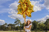 Balloons_01 (fabianamsolano) Tags: gold cute model balloons flying floating beautiful sky blue fun happy jumo bright