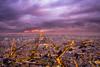 Paris. Cloudy sunset (modesrodriguez) Tags: paris montparnassetower cityscape landscape france europe tour eiffel tower lights night sunset cloudy overcast longexposure fuji