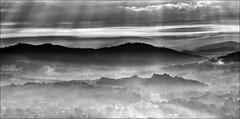 Beskidy (witoldp) Tags: beskidy żywiecki dolina soły mgła chmury góry mountains mist landscape sky
