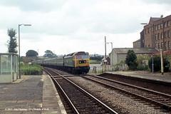02/09/1978 - Shipton-under-Wychwood, Oxfordshire. (53A Models) Tags: britishrail class47 47088 samson coco diesel passenger shipton oxfordshire train railway locomotive railroad
