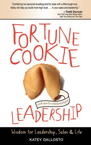 Book cover of Fortune Cookie Leadership